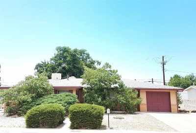 Alamogordo Single Family Home For Sale: 1403 Arizona Av