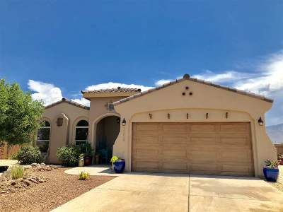 Alamogordo Single Family Home For Sale: 3624 Red Arroyo Dr
