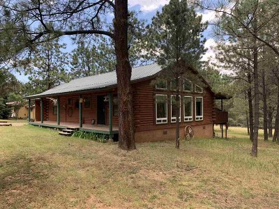 Mayhill Single Family Home Under Contract: 6 Silver Fox Trl
