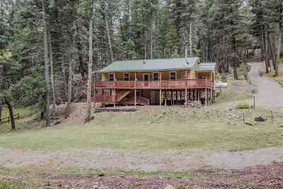 Cloudcroft Single Family Home Under Contract: 59 Waterfall Dr