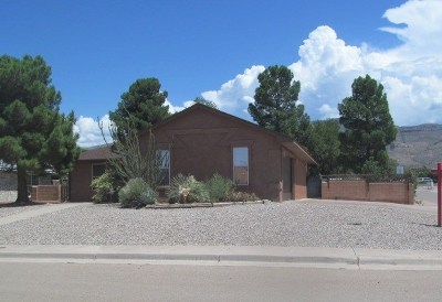 Alamogordo Single Family Home For Sale: 886 San Juan Dr