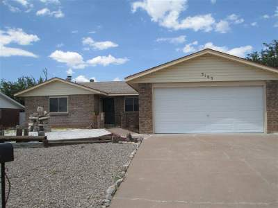 Alamogordo Single Family Home For Sale: 3103 Shawnee Trl
