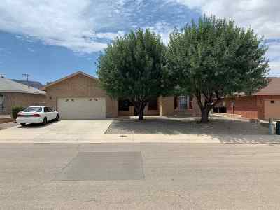 Alamogordo Single Family Home Under Contract: 1152 Mimosa Av