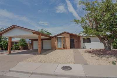 Alamogordo Single Family Home Under Contract: 1804 Lamar Cir