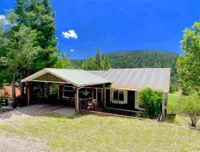 Cloudcroft Single Family Home For Sale: 12 Mystery Path