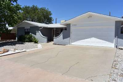 Alamogordo Single Family Home For Sale: 2309 Union Av
