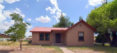 Tularosa Single Family Home For Sale: 600 Rose Av