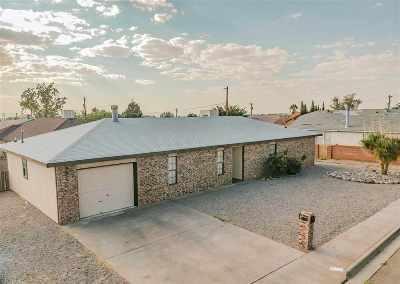Alamogordo Single Family Home For Sale: 1090 Rose Av