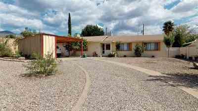 Alamogordo Single Family Home For Sale: 1504 Wilson Av