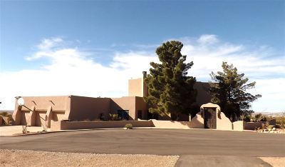 Alamogordo Single Family Home For Sale: 58 S Canyon Rd