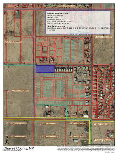 Roswell NM Residential Lots & Land For Sale: $97,000