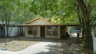 Ruidoso NM Single Family Home For Sale: $139,500