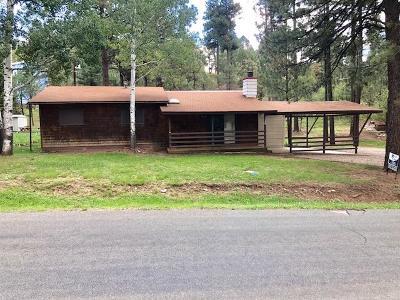 Ruidoso NM Single Family Home For Sale: $150,000