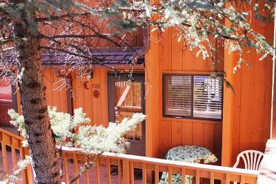 Ruidoso NM Condo/Townhouse For Sale: $105,000