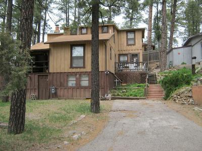 Ruidoso NM Single Family Home For Sale: $180,000