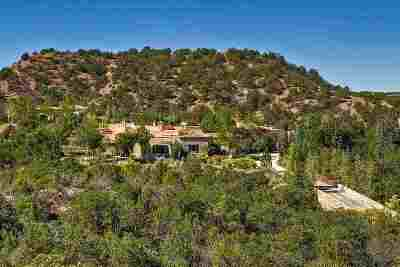 Santa Fe Single Family Home For Sale: 117 Tesuque Ridge