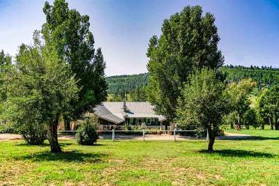Single Family Home For Sale: Sweet Pea Ranch