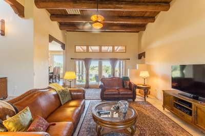 Santa Fe Single Family Home For Sale: 10 Gallina Rd