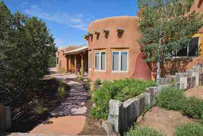 Santa Fe Single Family Home For Sale: 6 Bosque Azul