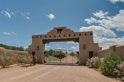Santa Fe Farm & Ranch For Sale: 12 Avenida De Rey