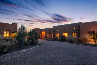 Las Campanas Single Family Home For Sale: 4 Falling Star