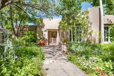 Santa Fe Single Family Home For Sale: 1243 Canyon Road