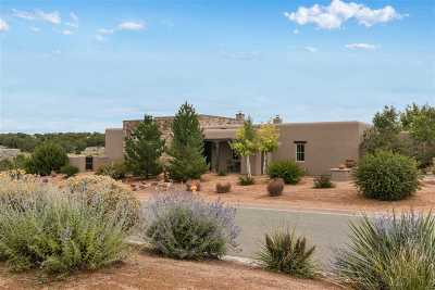 Santa Fe Single Family Home For Sale: 1 Delantera Court