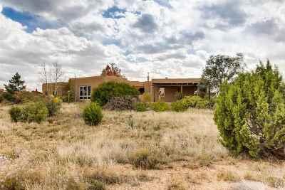 Santa Fe Single Family Home For Sale: 7 Chapala