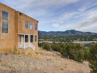 Santa Fe Single Family Home For Sale: 27 Via Del Sol