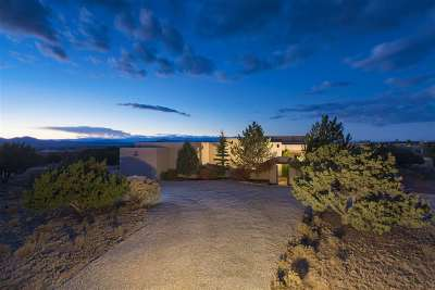 Santa Fe NM Single Family Home For Sale: $1,180,000