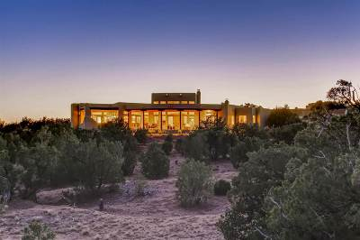 Santa Fe Single Family Home For Sale: 18 Paseo De Aguila