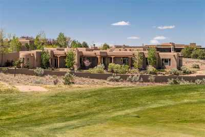 Las Campanas Single Family Home For Sale: 7 Plaza Molleno