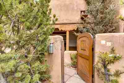 Santa Fe Condo/Townhouse For Sale: 334 Otero #15-2