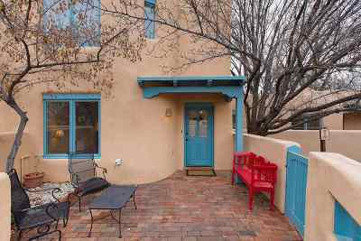 Santa Fe Condo/Townhouse For Sale: 624 Galisteo Street #8