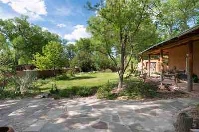 Santa Fe Single Family Home For Sale: 20 County Road 84b