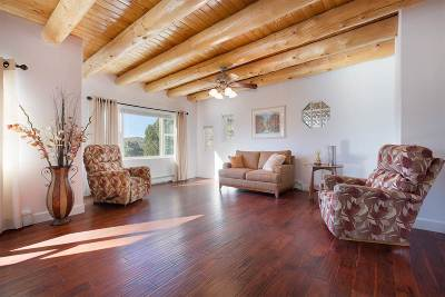 Santa Fe Single Family Home For Sale: 12 Two Trails