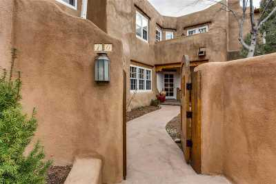 Santa Fe Condo/Townhouse For Sale: 334 Otero #10-4