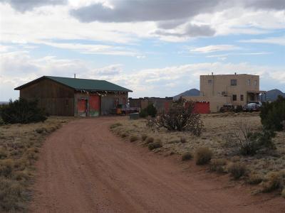 Santa Fe Single Family Home For Sale: 17 Crazy Rabbit Dr