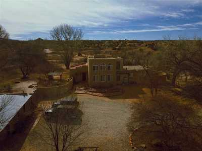 Santa Fe Single Family Home For Sale: 11 Paseo Patron