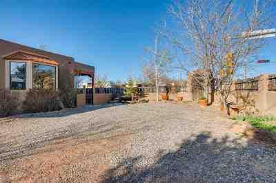 Santa Fe Single Family Home For Sale: 1501 Agua Fria