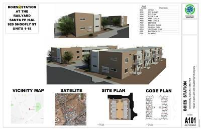 Santa Fe Condo/Townhouse For Sale: 920 A&b Shoofly