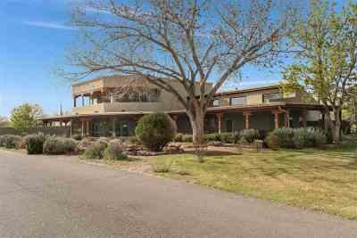 Albuquerque Single Family Home For Sale: 8501 Rio Grande Blvd. NW