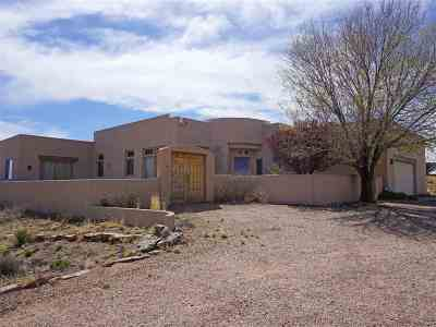 Santa Fe NM Single Family Home For Sale: $495,000