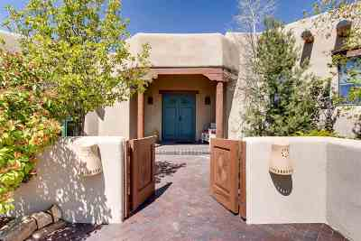 Santa Fe NM Single Family Home For Sale: $989,000