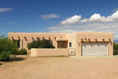 Santa Fe Single Family Home For Sale: 41 Blue Canyon Way
