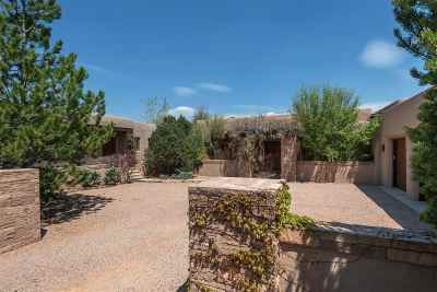 Las Campanas Single Family Home For Sale: 10 Sierra Rosa Loop