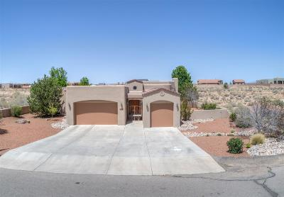 Rio Rancho Single Family Home For Sale: 6525 Nagoya Rd NE