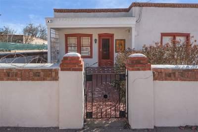 Santa Fe Single Family Home For Sale: 828 W Manhattan