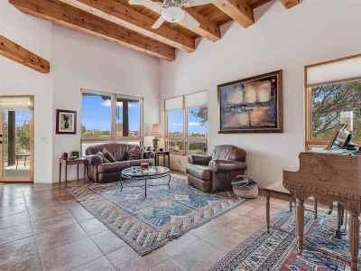 Santa Fe Single Family Home For Sale: 15 S Arroyo Ridge