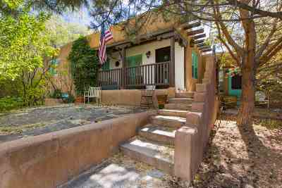 Santa Fe Single Family Home For Sale: 1606 Canyon Road